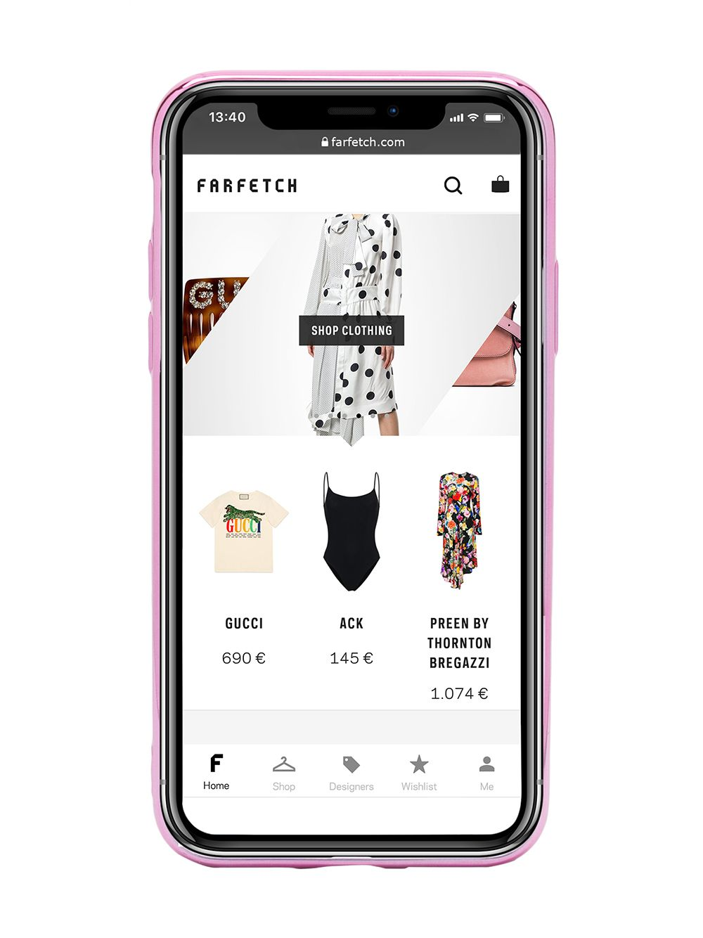 Picture of Chiara Ferragni | Flirting Glitter Iphone Xs Case