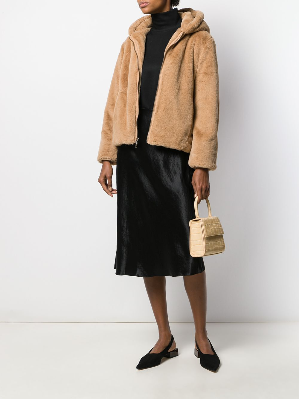 Picture of Vince | High-Waisted Midi Skirt