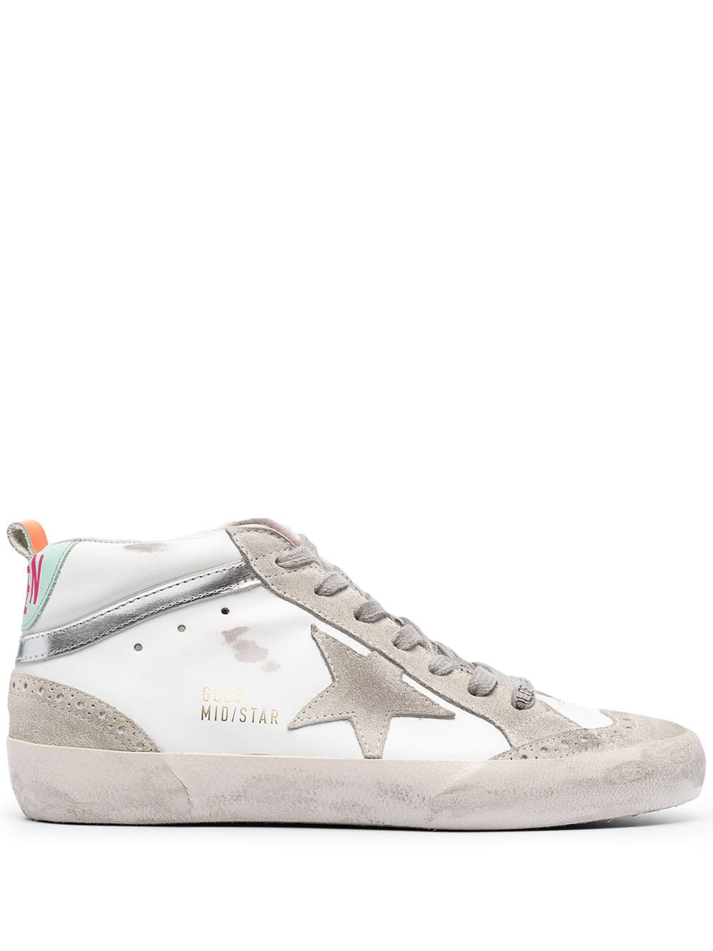 Picture of Golden Goose Deluxe Brand | Mid Star Sneakers