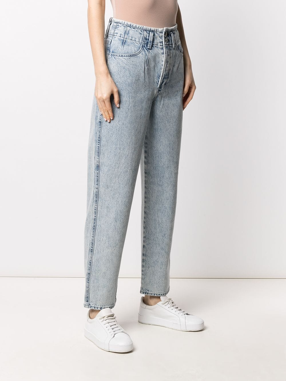 Picture of Rag&Bone | Straight-Leg Washed Jeans