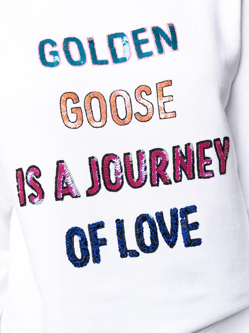 Picture of Golden Goose Deluxe Brand   Doodle Print Sweatshirt