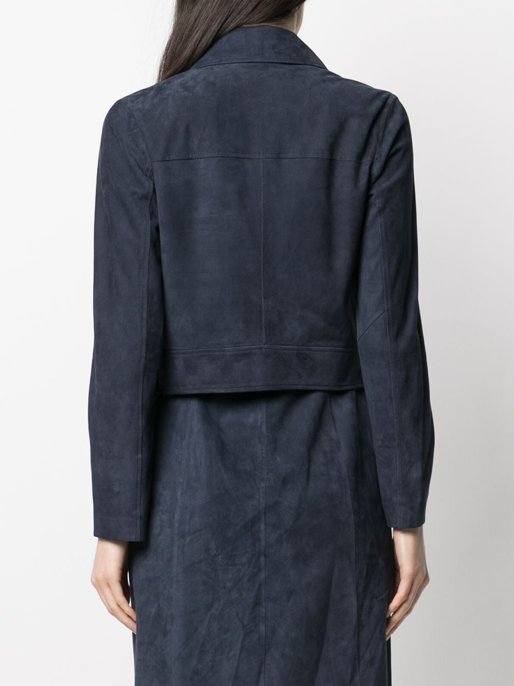 Picture of Desa 1972 | Cropped Suede Jacket