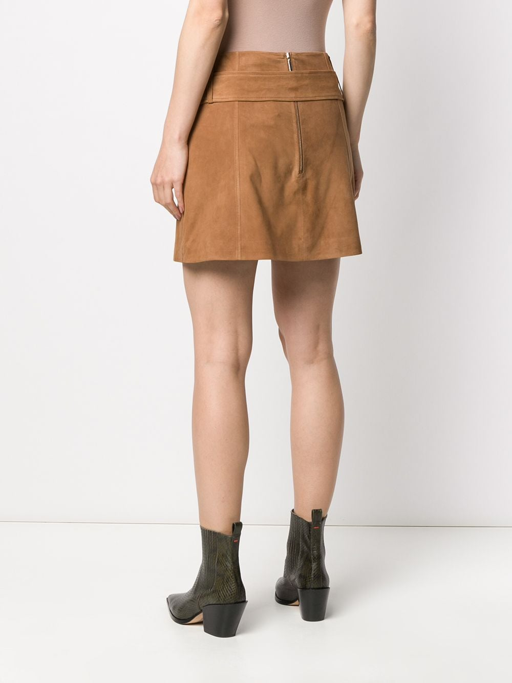 Picture of Arma | Belted Mini Skirt