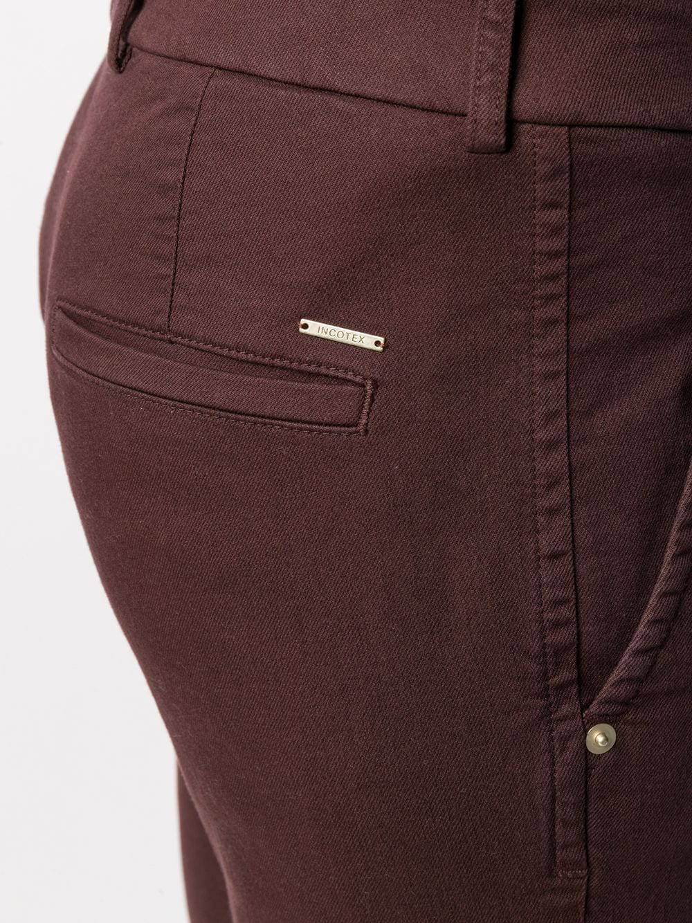 Picture of Incotex | Flared Cropped Trousers