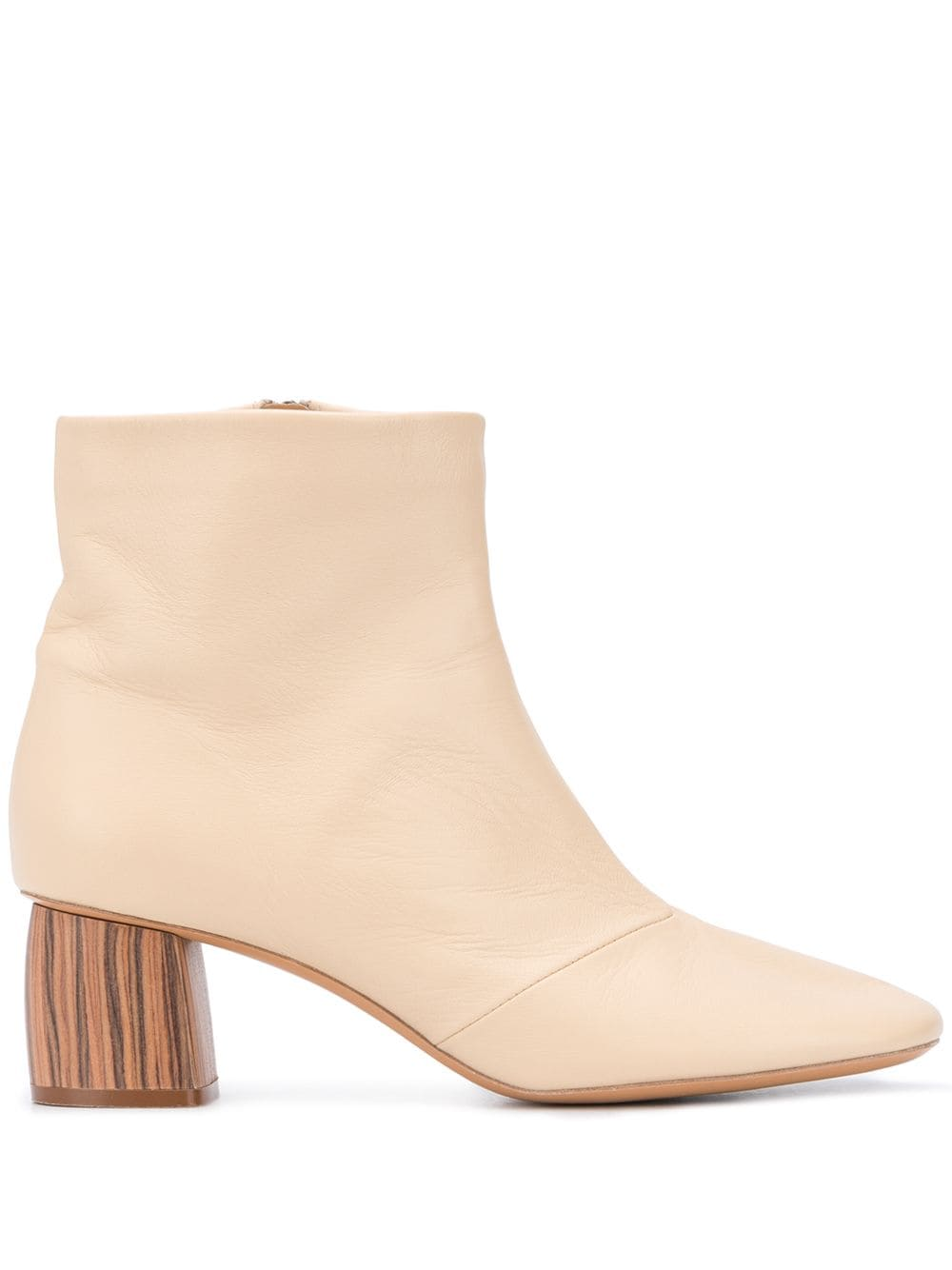Picture of Forte_Forte | Wooden Heel Ankle Boots