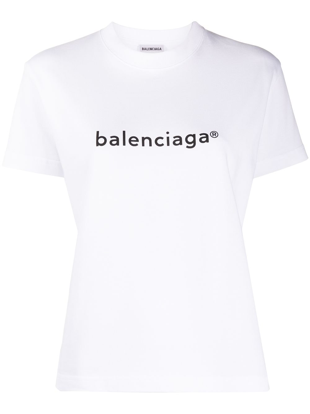 Picture of Balenciaga | Logo-Print T-Shirt