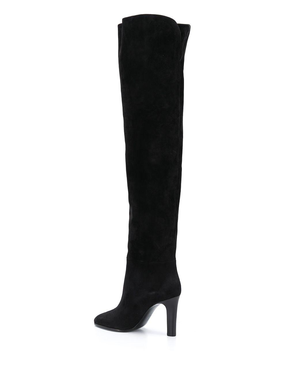 Picture of Saint Laurent | Jane 90Mm Point-Toe Boots