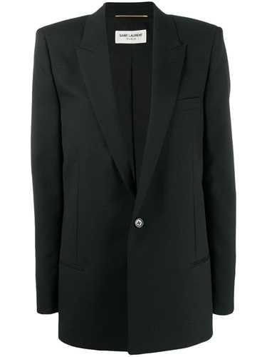 Picture of Saint Laurent | Classic Single-Button Blazer