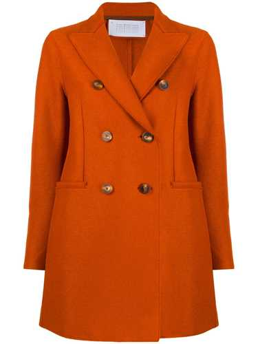 Picture of Harris Wharf London   Short Double-Breasted Coat