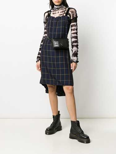 Picture of Mcq | Checked Sleeveless Dress
