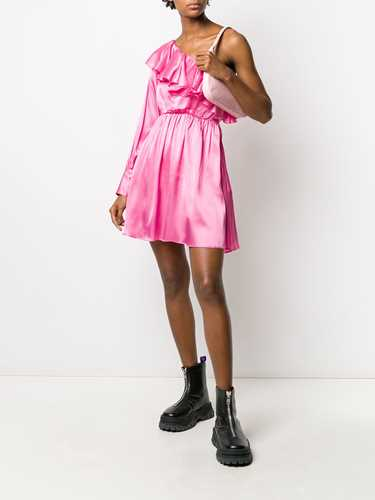 Picture of Msgm | Asymmetric One-Sleeve Dress
