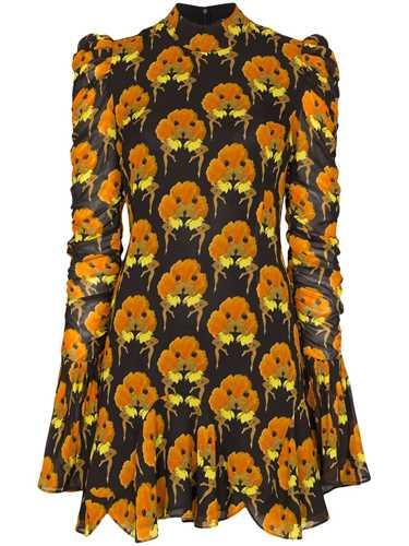 Picture of De La Vali | Puma Ruffle Detail Mini Dress