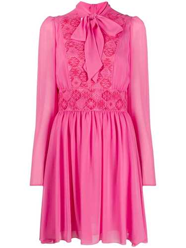 Picture of Giamba   Embroidered Long-Sleeve Dress