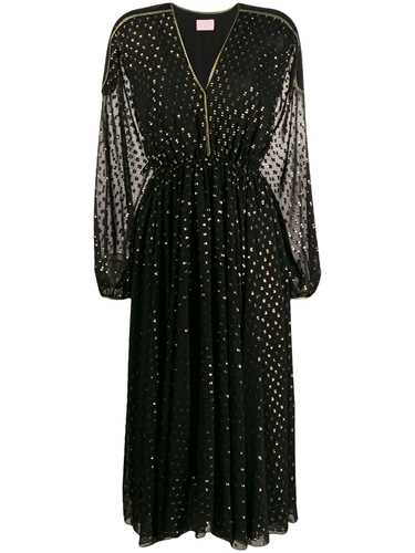 Picture of Giamba   Embroidered Flared Dress