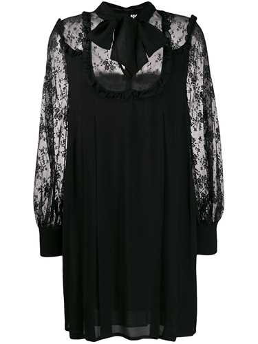 Picture of Ermanno Ermanno | Sheer Lace Panel Dress