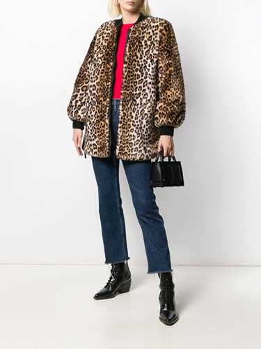 Picture of Ermanno Ermanno | Leopard-Print Coat