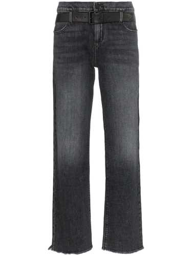 Picture of R T A | Dexter Belted Denim Jeans