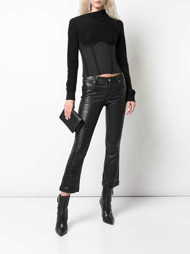Picture of R T A | Asymmetric Long-Sleeve Top