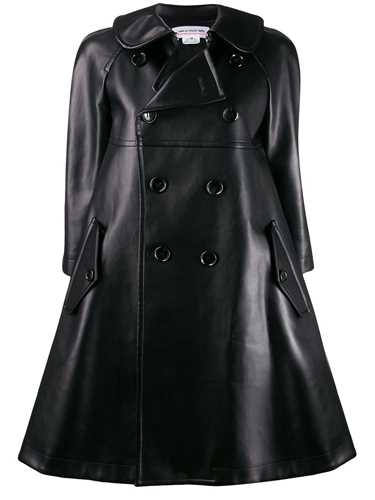 Picture of Comme Girl | Cut-Out Heart Peter Pan Collar Coat