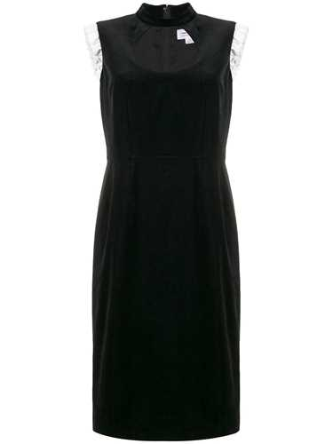 Picture of Comme Girl | Open Front Ruffle Detail Dress