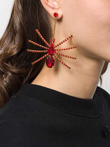 Picture of Gcds | Spider Embellished Drop Earrings