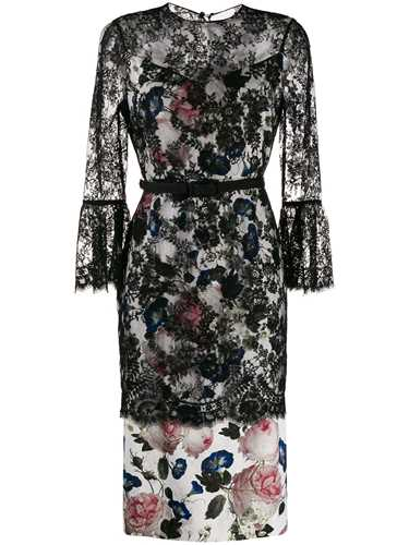 Picture of Erdem | Lace Layered Midi Dress