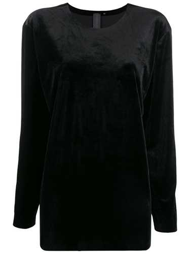 Picture of Norma Kamali   Oversized Long-Sleeve Top