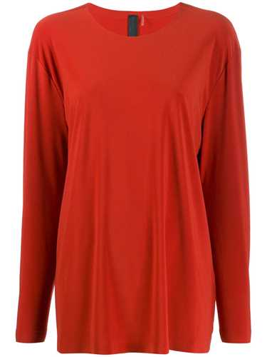Picture of Norma Kamali | Loose-Fit Long-Sleeved T-Shirt