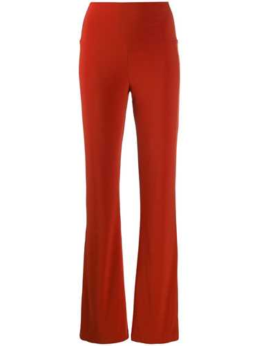 Picture of Norma Kamali | High-Rise Flared Trousers