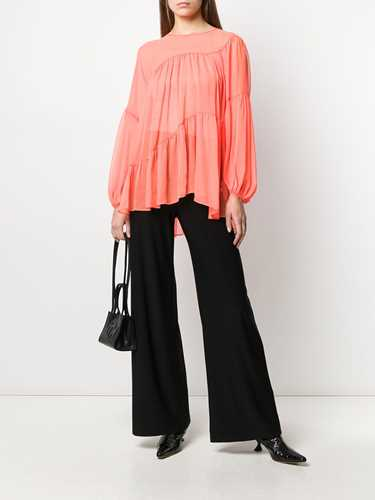 Picture of Norma Kamali | High-Waist Loose Fit Trousers