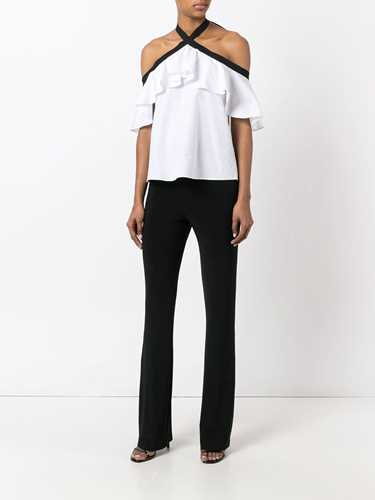 Picture of Norma Kamali | Colour Block Trousers