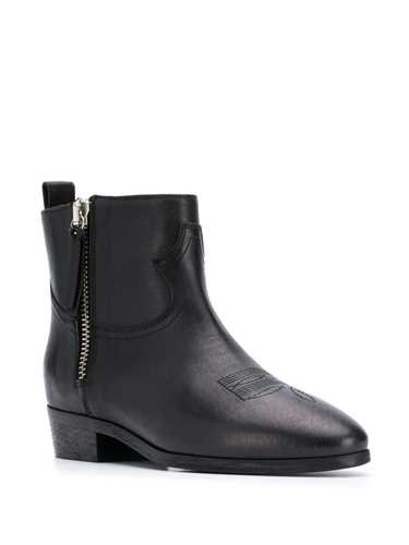 Picture of Semicouture | Western Ankle Boots