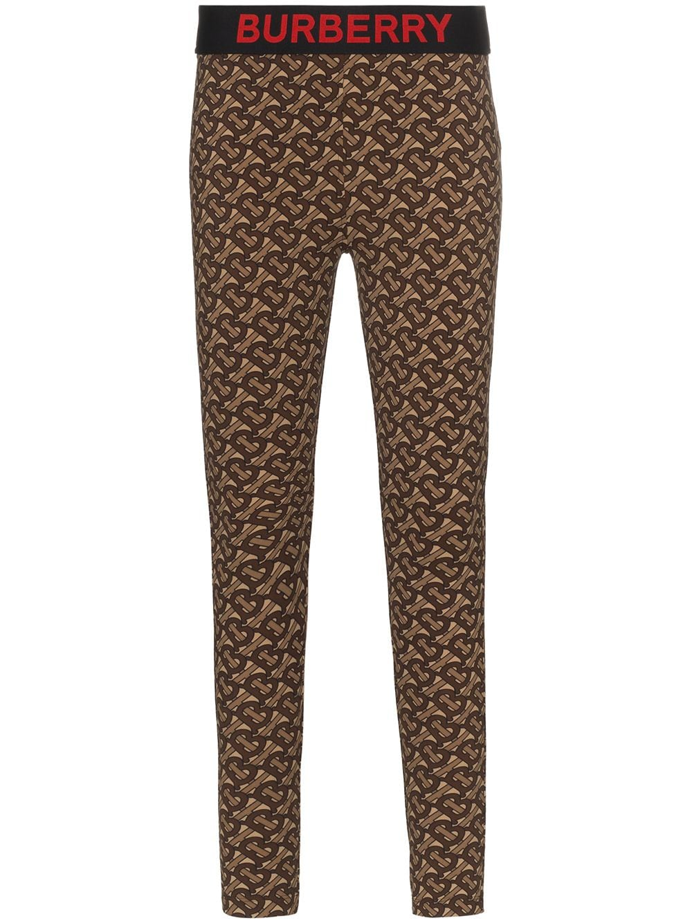 Picture of Burberry | Monogram Print Stretch Leggings
