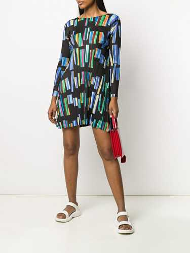 Picture of Issey Miyake Pleats Please | Hopscotch Colours Mini Dress