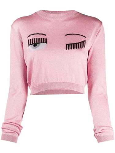 Picture of Chiara Ferragni | Winking Eye Knitted Top