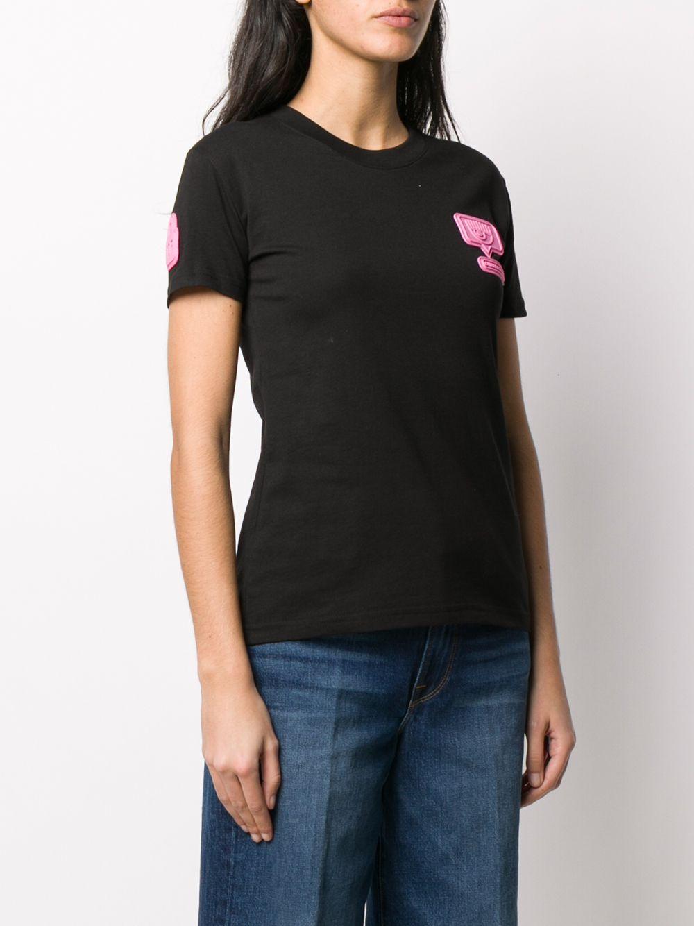 Picture of Chiara Ferragni | Logo-Appliqué Short Sleeves T-Shirt