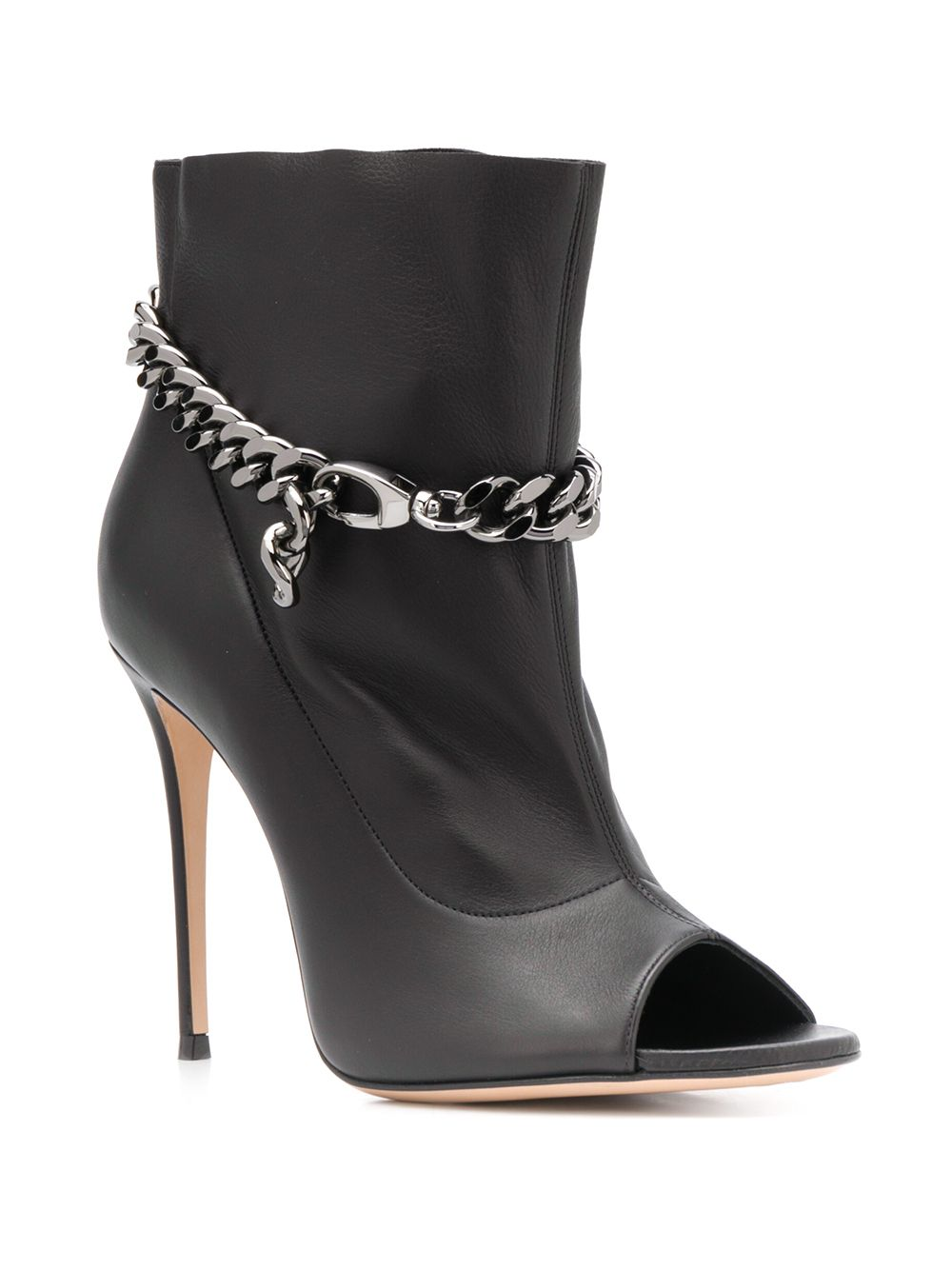 Picture of Casadei | Chain Embellished Booties