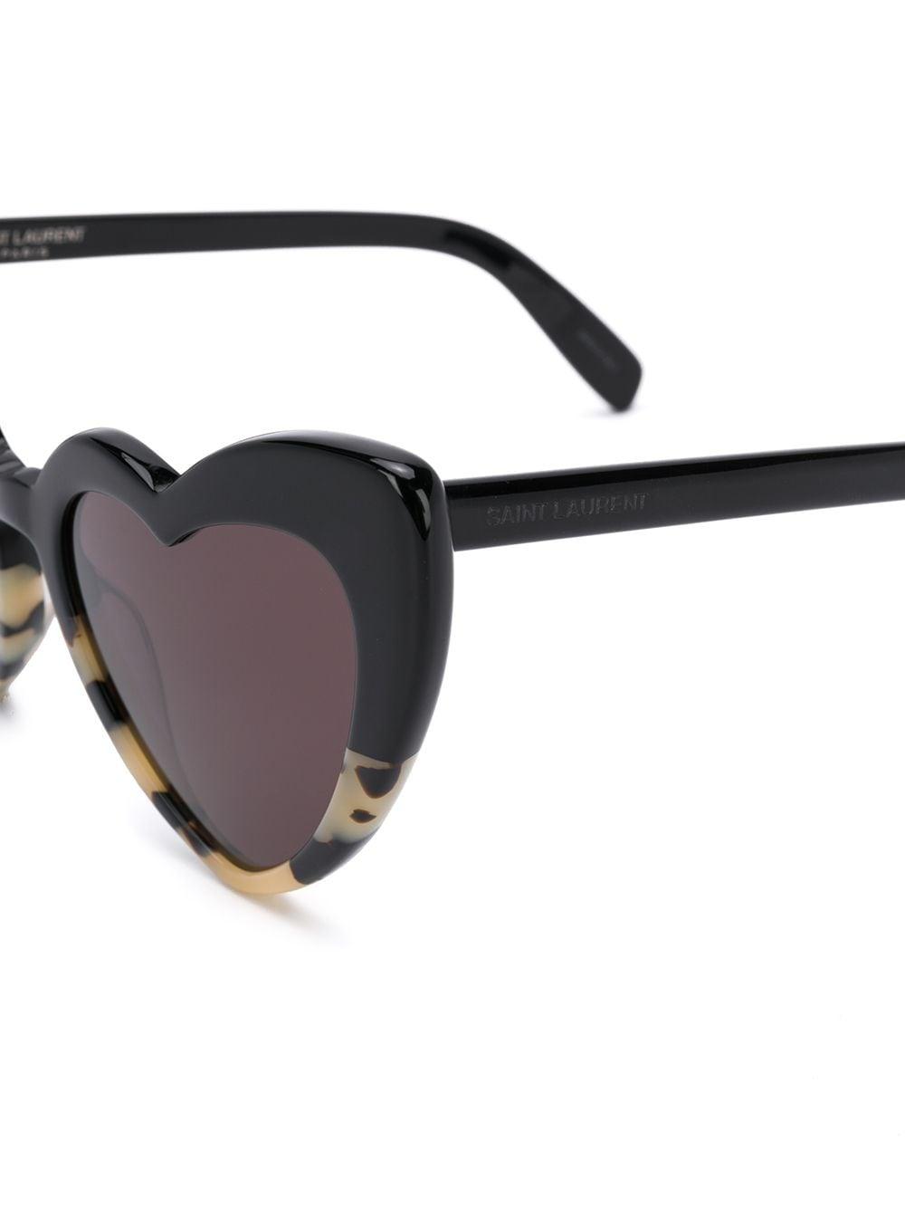 Picture of Saint Laurent | Heart-Shaped Sunglasses