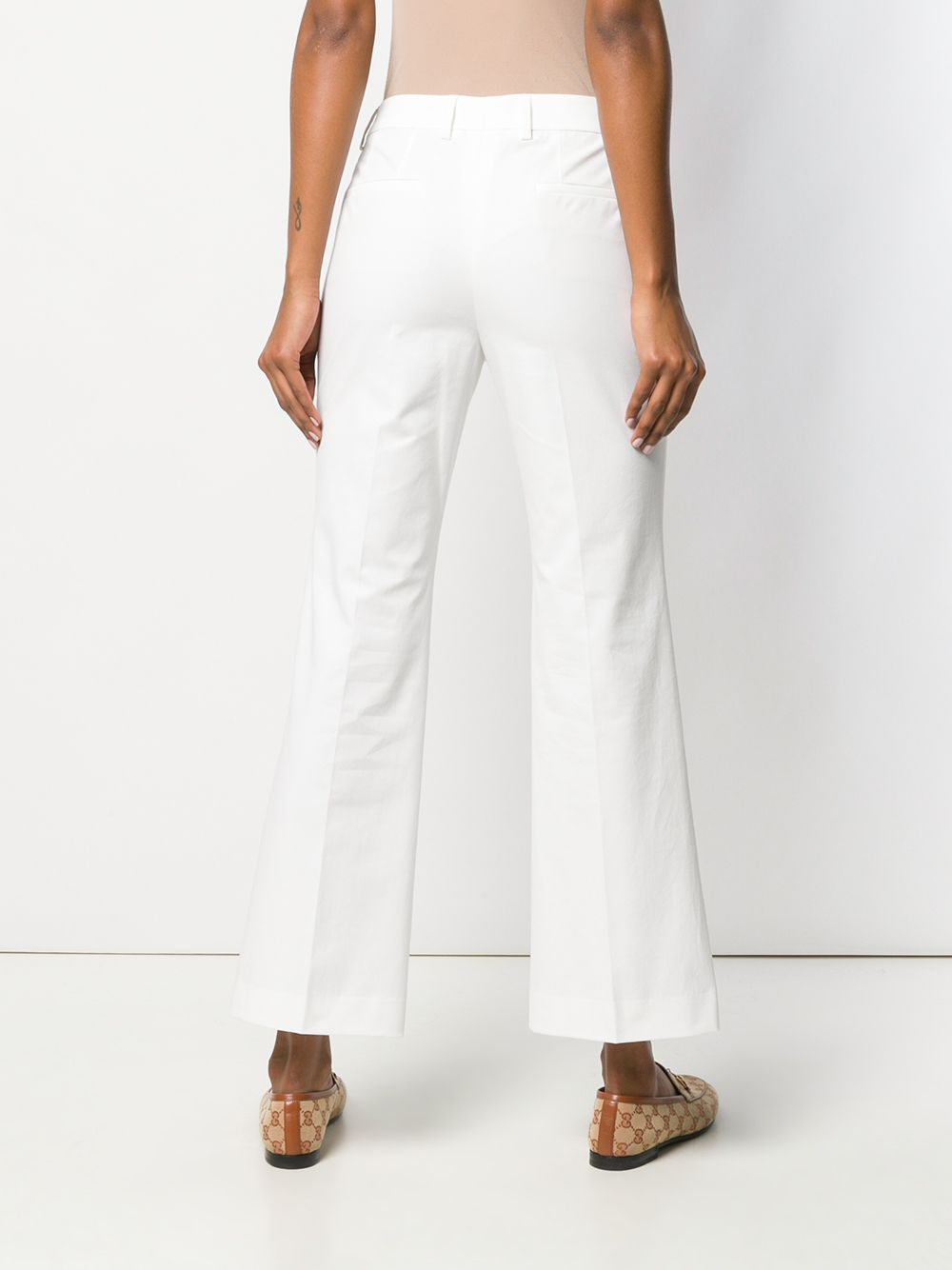 Picture of Incotex | Flared Cropped Jeans