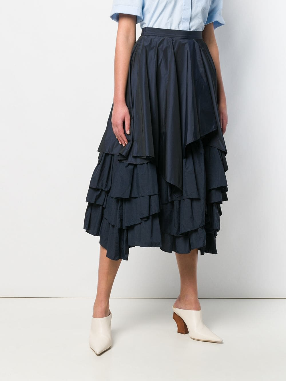 Picture of Enfold | Layered Ruffle Skirt