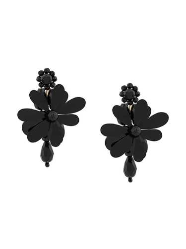 Picture of Simone Rocha | Flower Drop Earrings