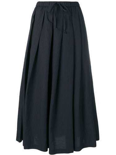 Picture of Aspesi | Pinstripe Pleated Skirt