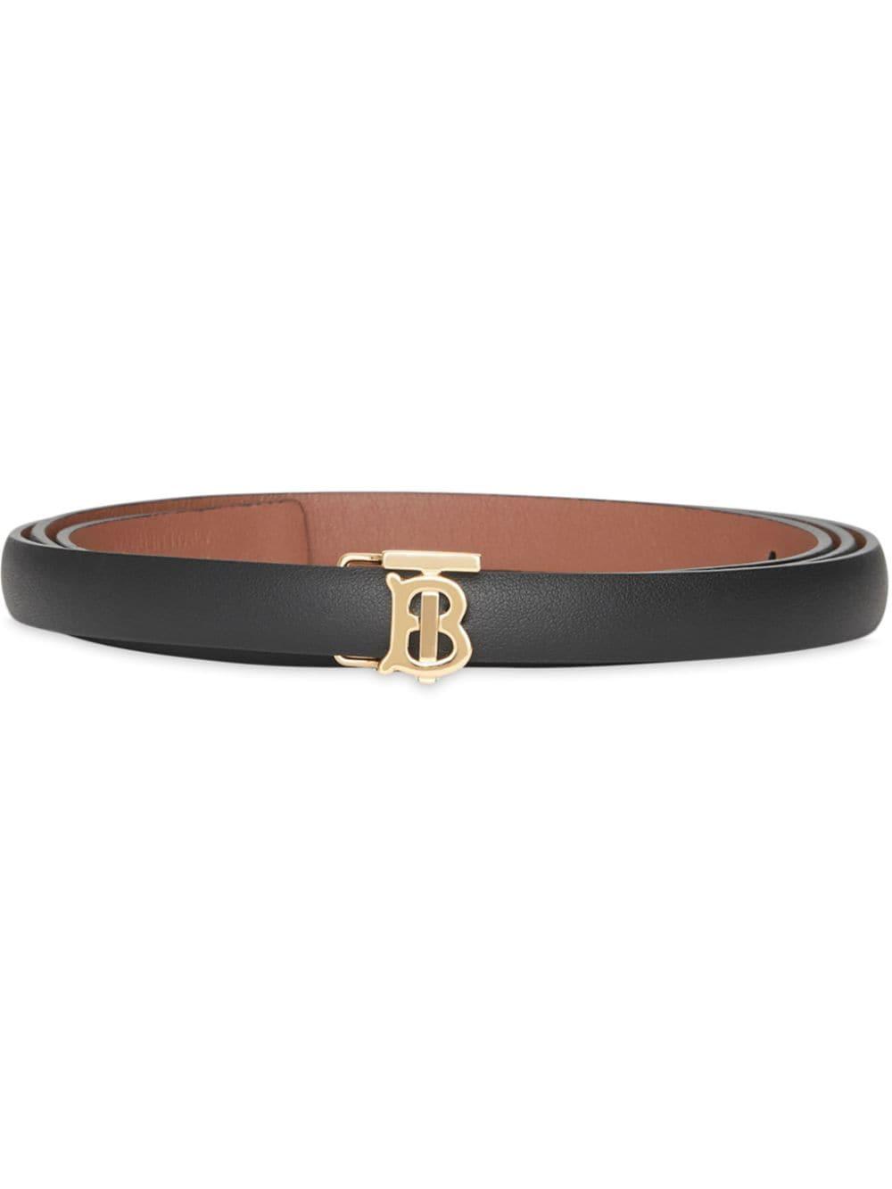 Picture of Burberry   Reversible Monogram Motif Wrap Belt