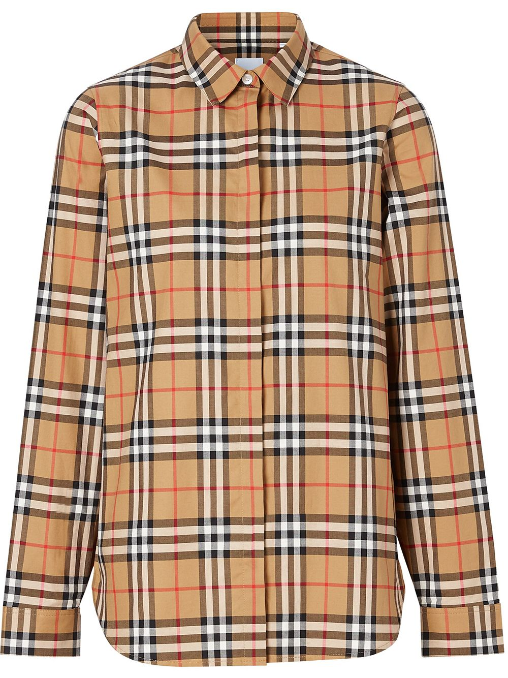 Picture of Burberry | Vintage Check Print Shirt