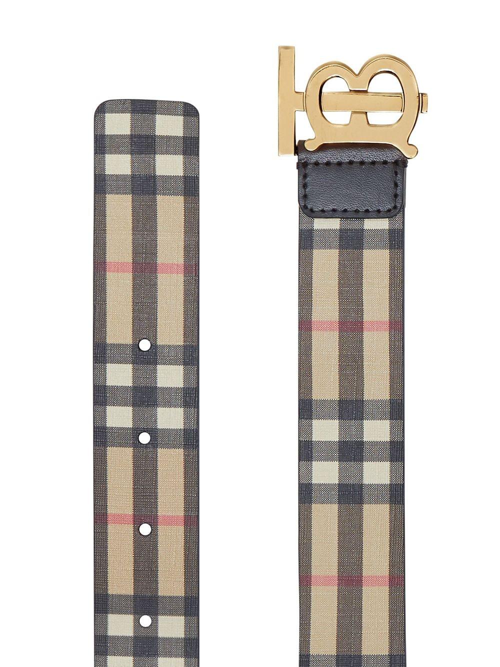 Picture of Burberry | Monogram Motif Check Belt