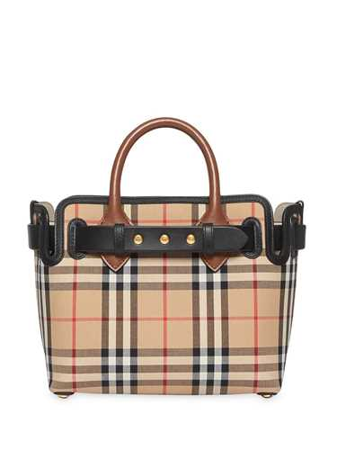 Picture of Burberry | Mini Vintage Check Bag