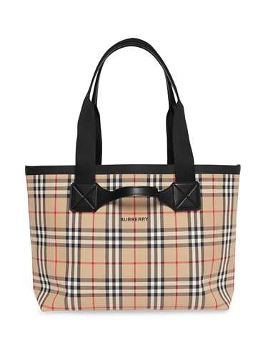 Picture of Burberry | Medium Vintage Check Austen Tote