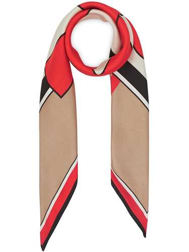 Picture of Burberry | Monogram And Icon Scarf