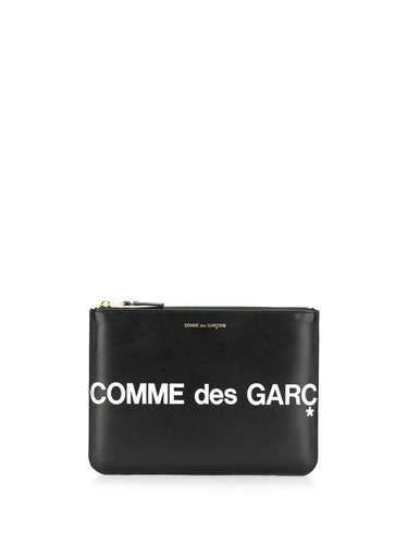 Picture of Cdg Wallet | Logo Print Pouch