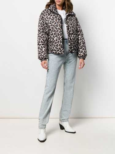 Picture of Msgm | Leopard Print Bomber Jacke